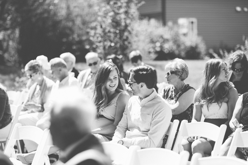 Sylvan Lake Backyard Wedding
