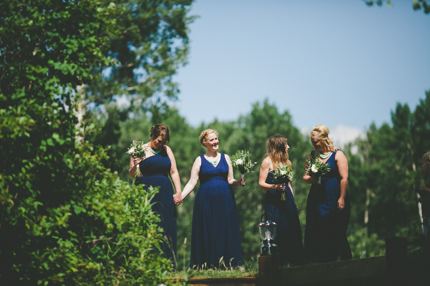 Alberta Lakefront Wedding Photography