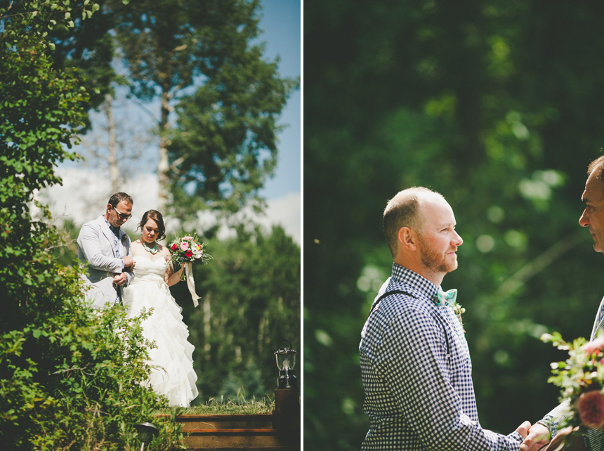 Alberta Destination Wedding Ceremony