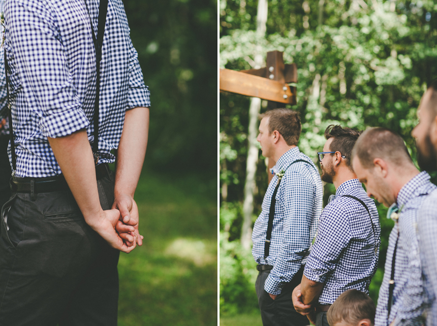 Sylvan Lake Wedding Ceremony