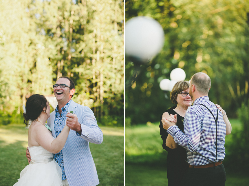 Alberta Outdoor Wedding
