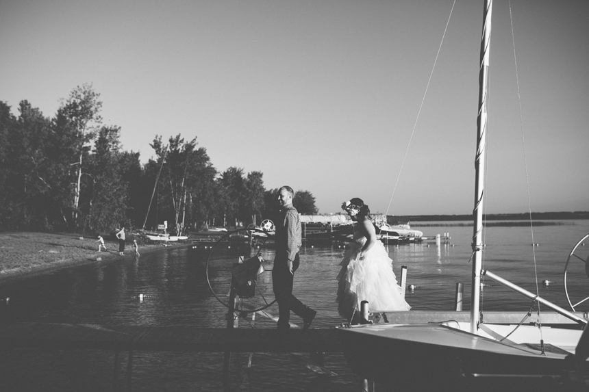 Sylvan Lake Destination Wedding Photography
