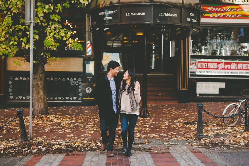 Gastown Engagement Photography