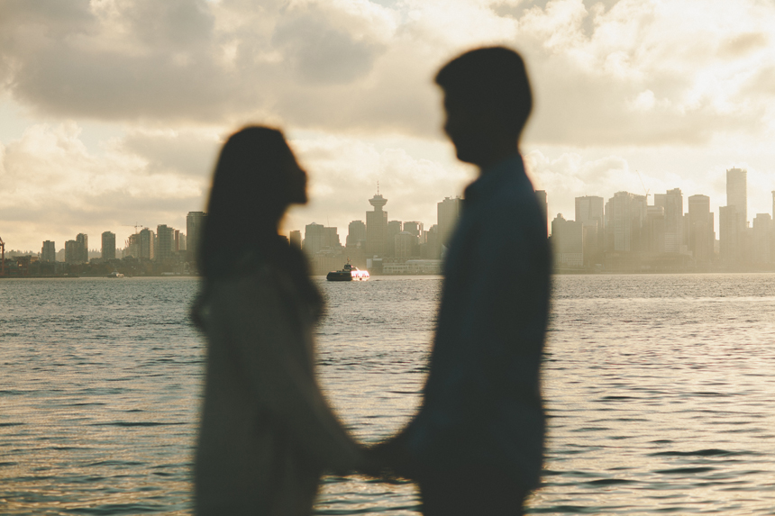 Vancouver Seabus Engagement // Shari + Mike