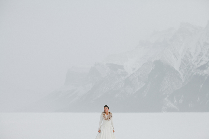 Alberta Rockies Destination Wedding // Shari + Mike