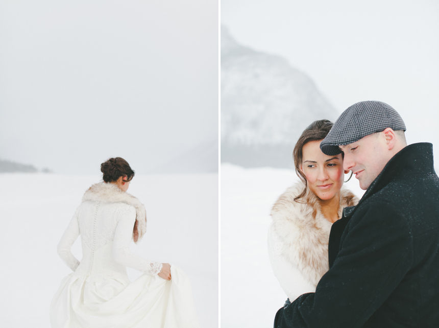 Alberta Winter Wedding Photography