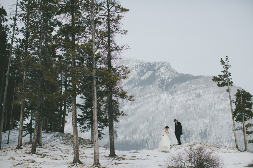 Alberta Rockies Destination Wedding