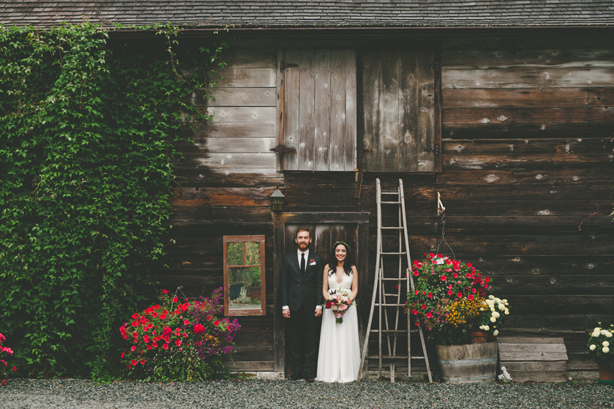 Vancouver Island Winery Wedding