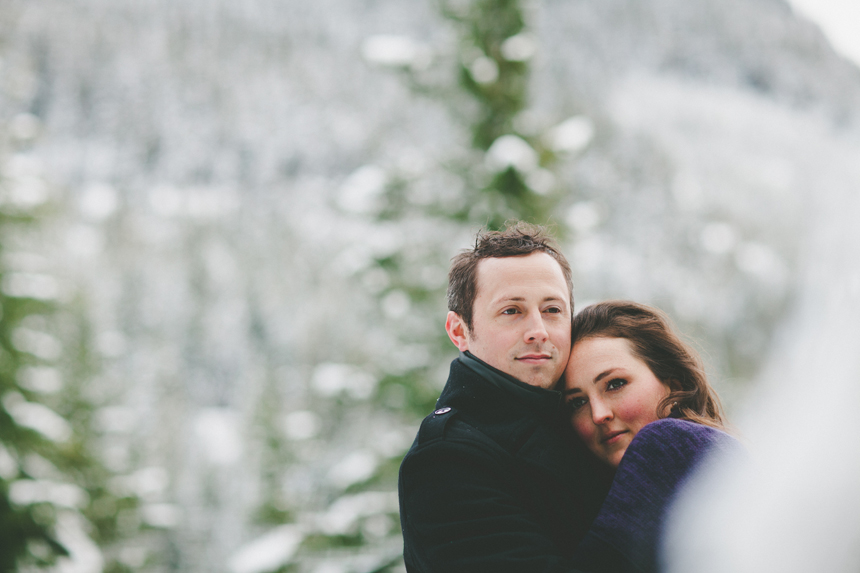 Squamish Winter Engagement