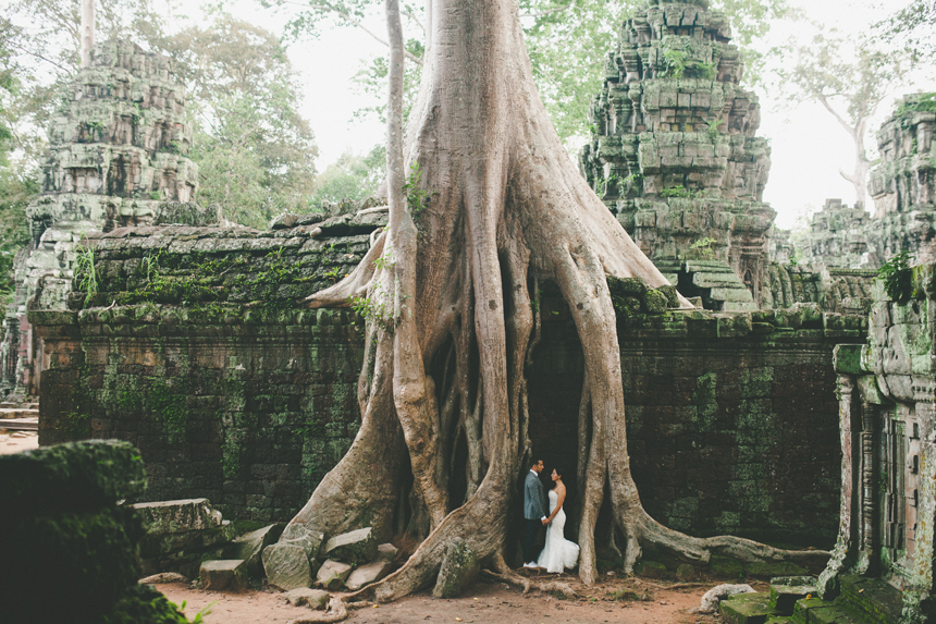 Angkor Wat Destination Wedding Photography
