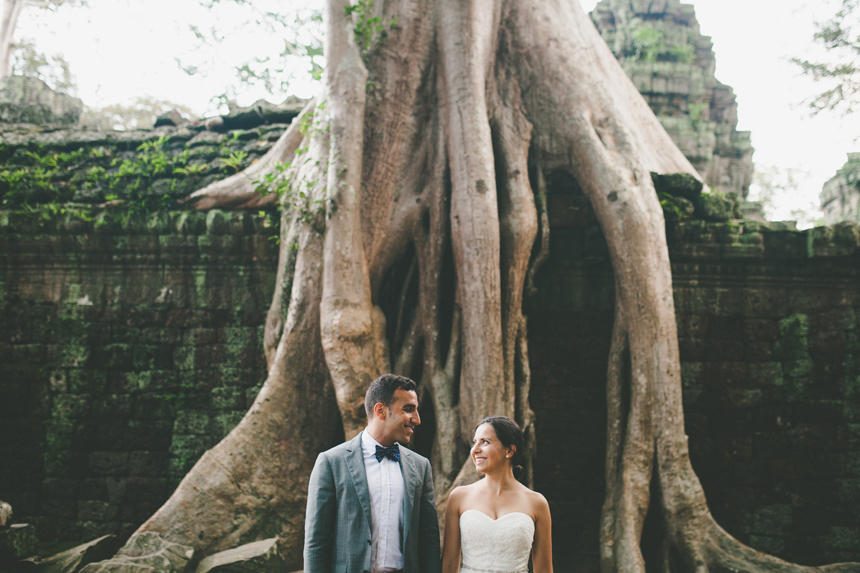 Jungle Temple Wedding Photos