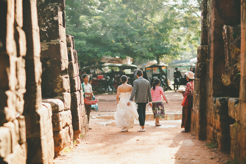 Angkor Wat Wedding Photos