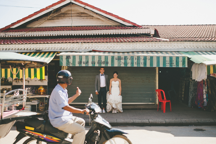 Cambodia Destination Wedding Photographers // Shari + Mike