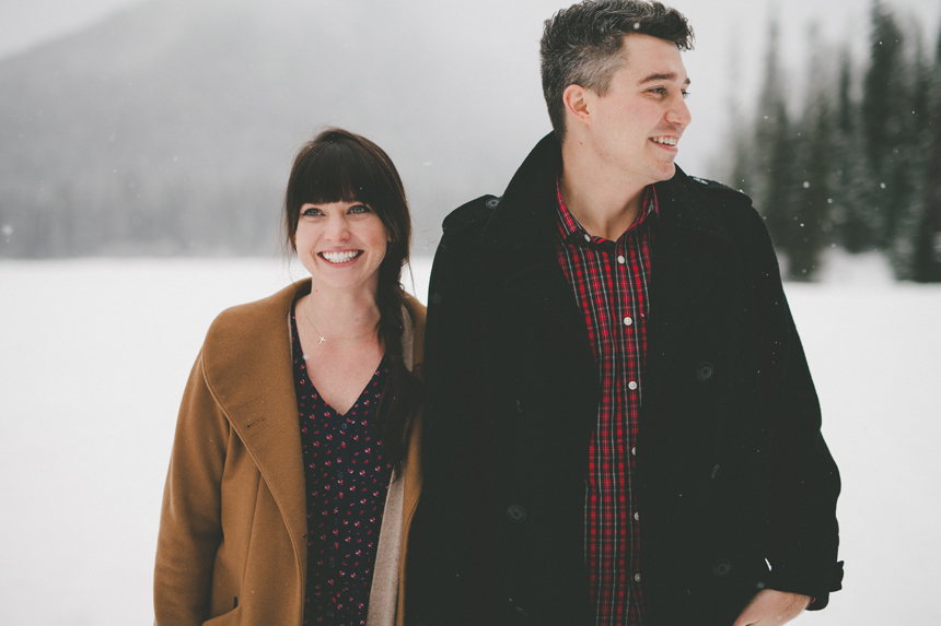 Manning Park Engagement Photography
