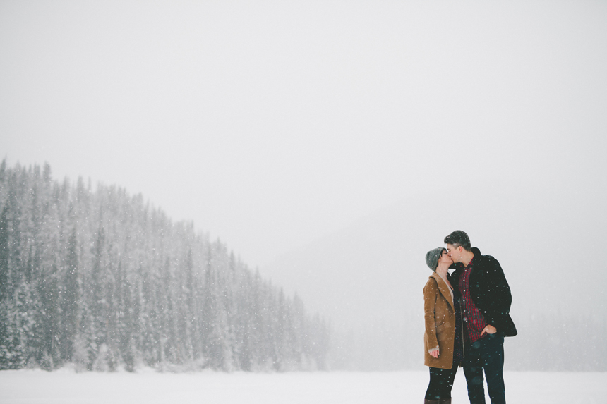 Manning Park Winter Engagement // Shari + Mike