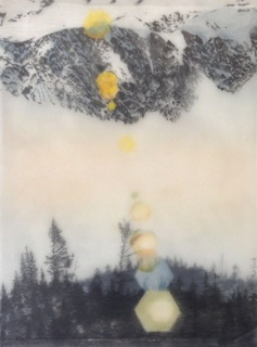 Brooks Salzwedel, Forest or Mtn., 2015, graphite with mixed media, 12 x 9 inches, $1600.jpeg