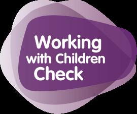 Working With Children Logo