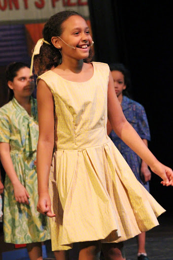 Jasmine Connor in Hairspray Jr. 2015