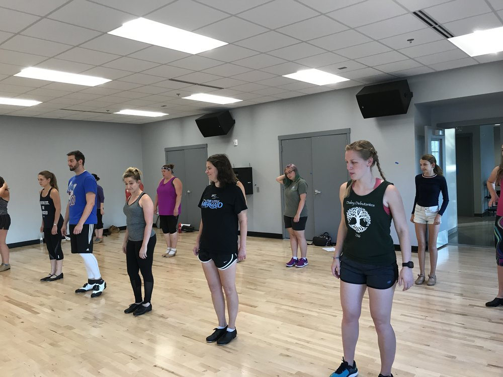 Adult Summer Dance Classes 2017 (ALBUM)