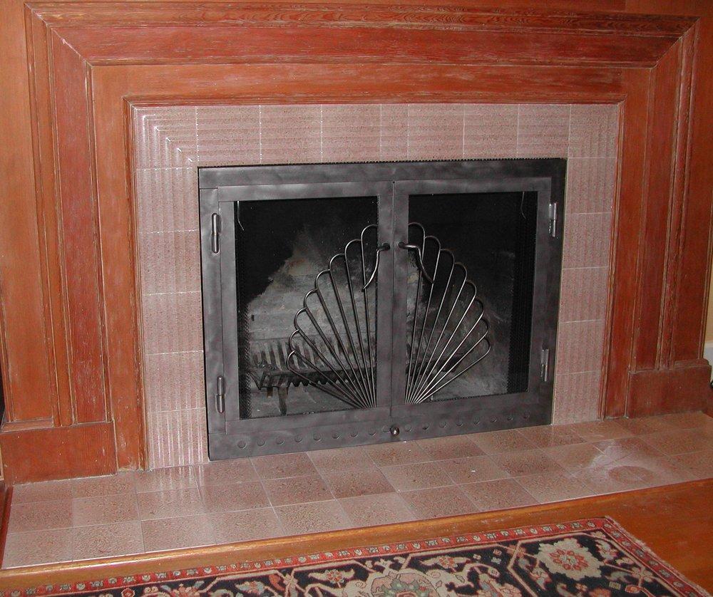 Art Deco FP installed 2.JPG