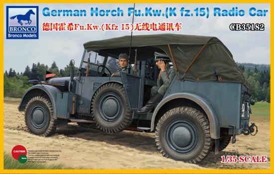 BOM35182, German Horch Fu.Kw.(Kfz.15) Radio Car