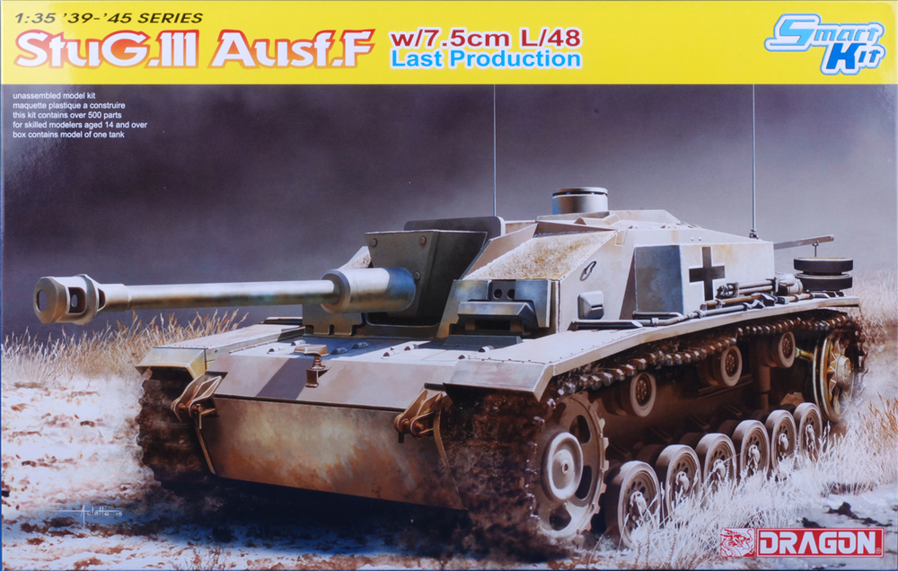 Final production version of Stug III Ausf F with welded applique and L/48 gun