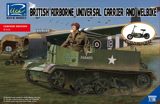 RCH35034,   British Airborne Universal Carrier Mk.III & Welbike Mk.2