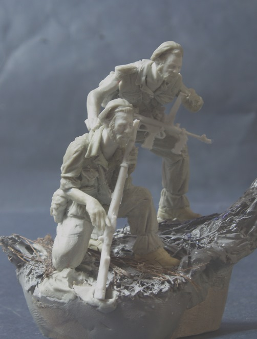 75mm Australian Commando pair