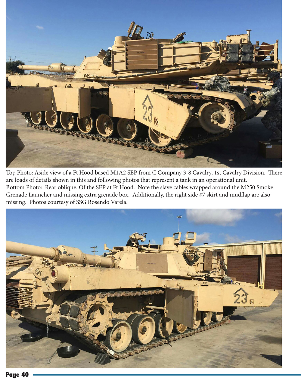 A multiple view look at an M1A2 SEP without any TUSK armor starts things off.