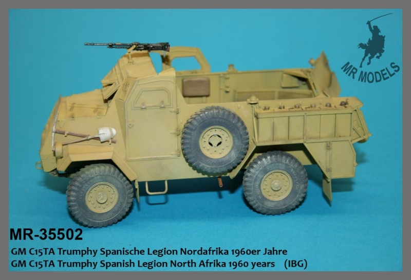 This is a conversion for either the Mirror Models or the IBG kit.