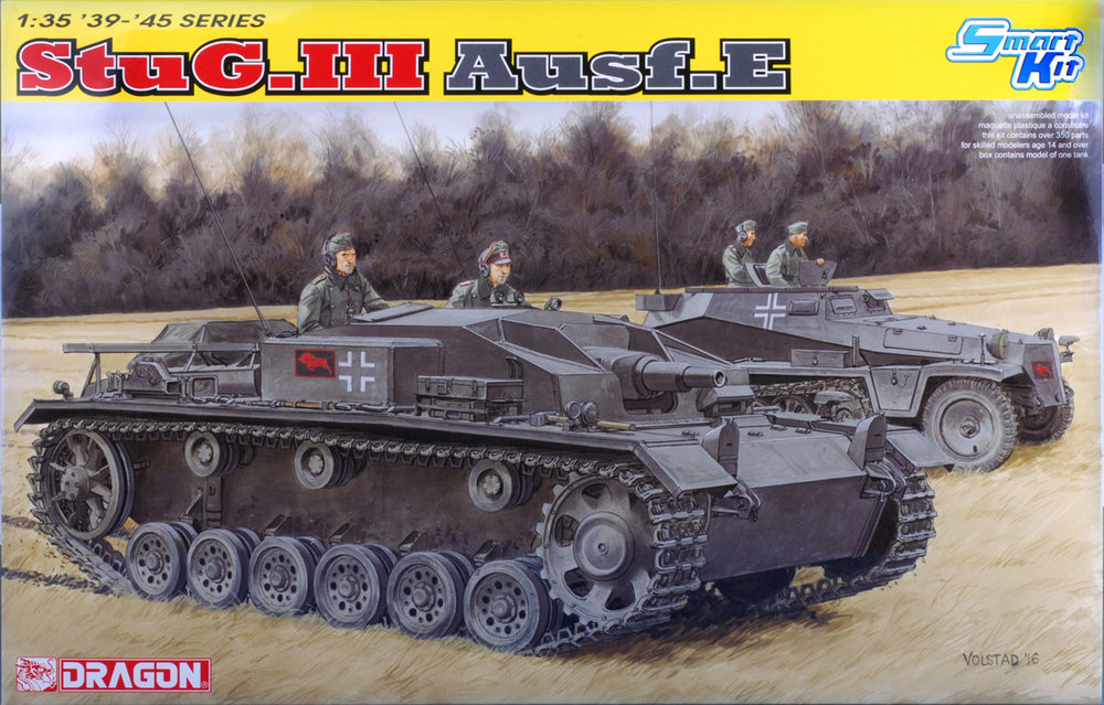 It's great to see Dragon jumping in on the short-barreled StuG! The instructions show a little bit of trimming to do. The overall kit naturally looks a lot like the Ausf. F versions. We liked the inclusion of the interior detail parts the best.