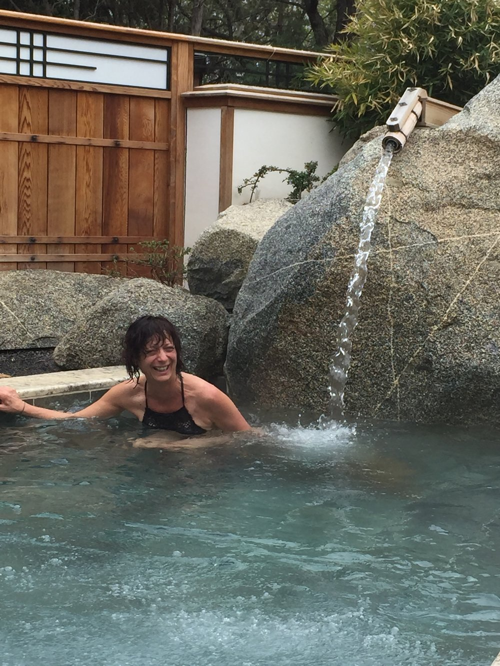 April 27, 2017. Imagine a Japanese garden in the mountains of Santa Fe, New Mexico, with hot tubs, saunas, the sound of water and birds... Ten Thousand Waves is the most awesome spa experience I've ever had.