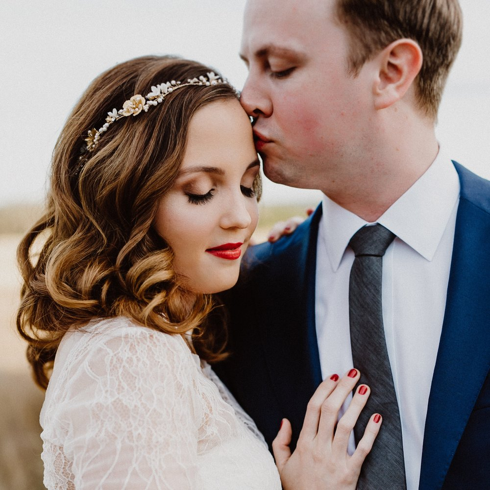 Flannery and Nick's Wedding featured on Ruffled!