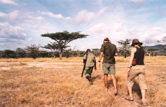 Tanzania Eclipse 2016 safari walk