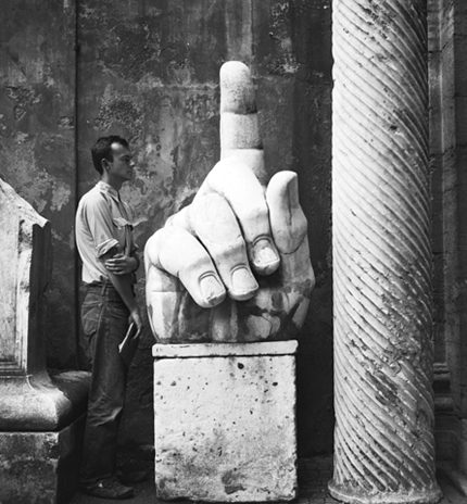 Robert Rauschenberg; 'Cy Twombly and Relics - Rome', 1952
