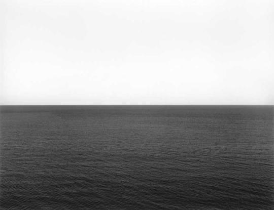 Hiroshi Sugimoto; Caribbean Sea, Jamaica;1980