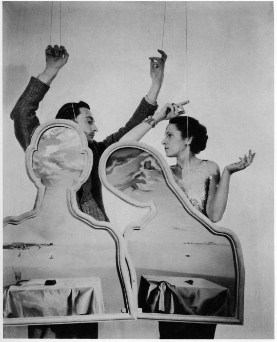 Cecil Beaton; Salvador Dali and Gala Dali; 1936