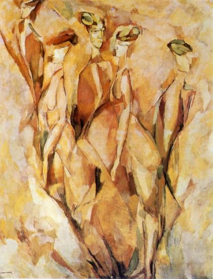Marcel Duchamp; Portrait (Dulcinea), 1911