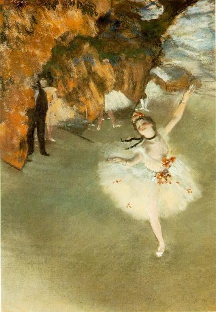 Edgar Degas; L'Etoile; 1878