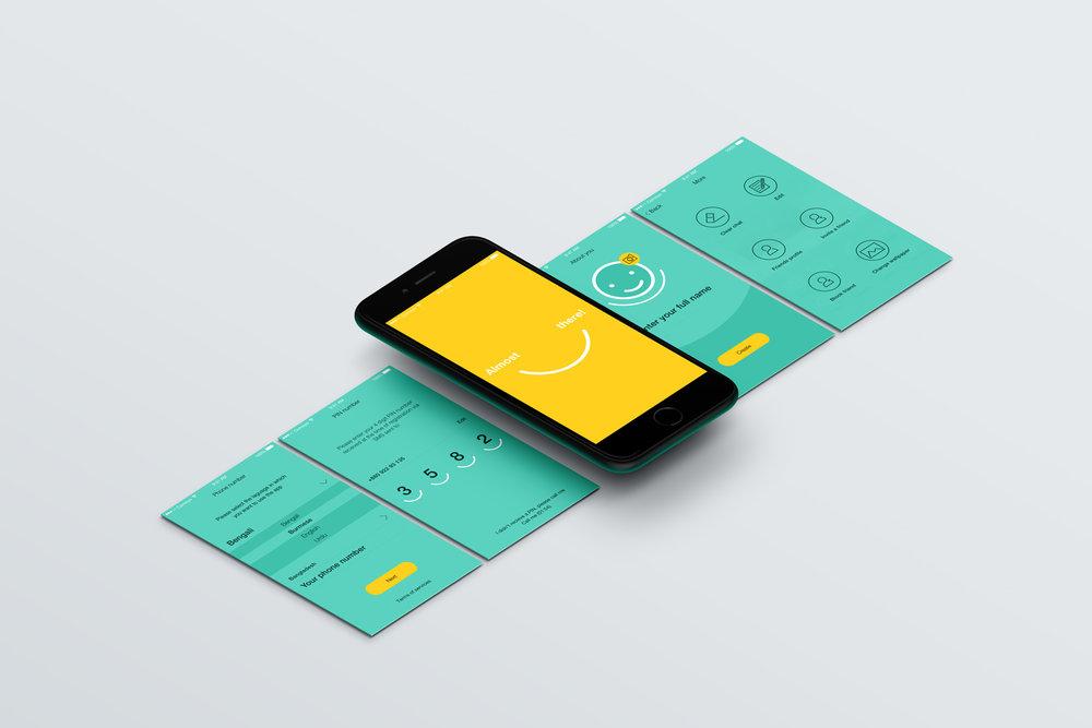 → Registration login inside app
