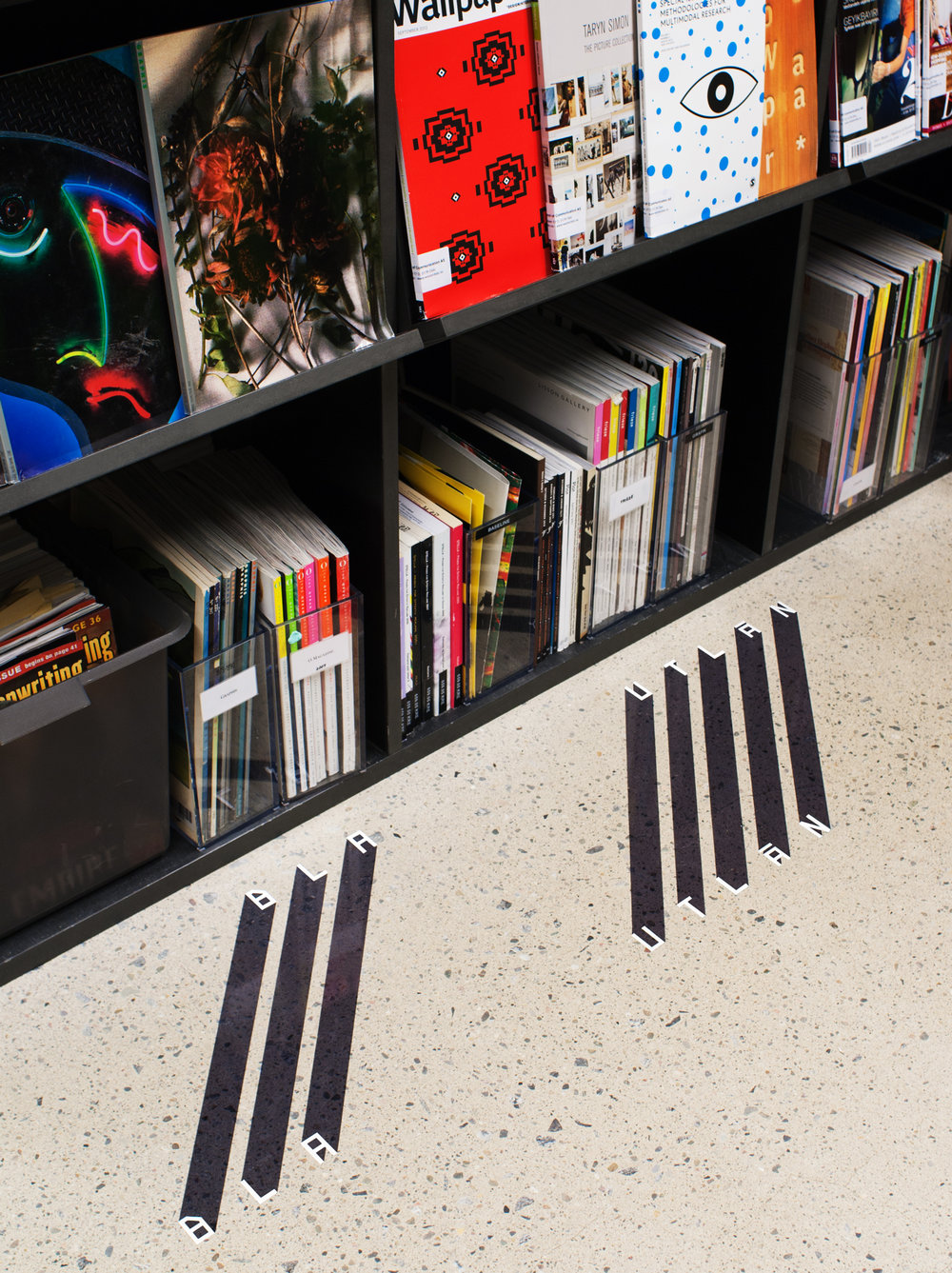 → Marking of the Dewey system according to book placement