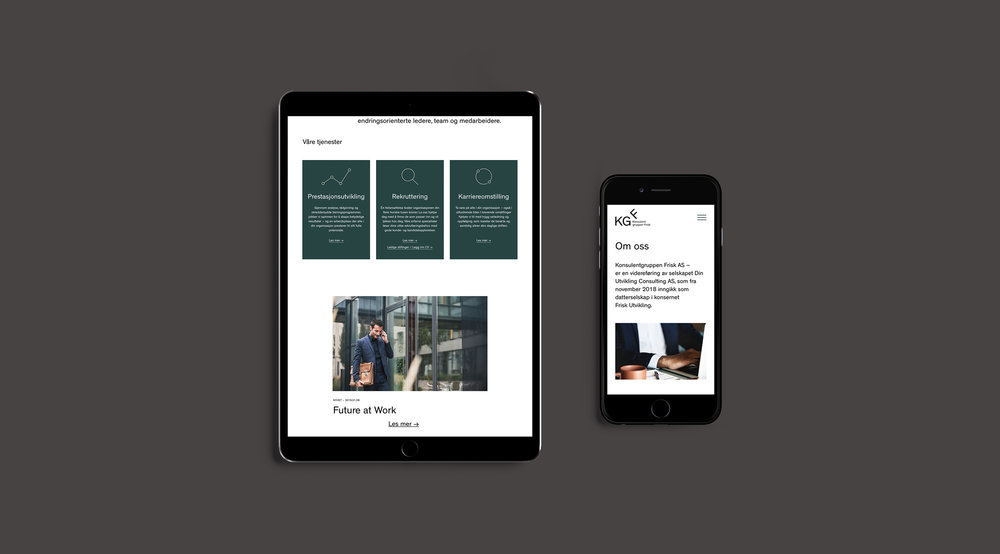 → Website: Frontpage