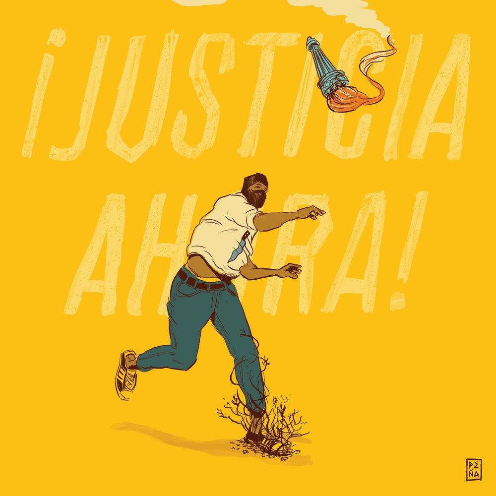 JUSTICIA AHORA!
