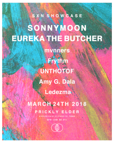 March 24  El Paso, TX  @ Prickly Elder