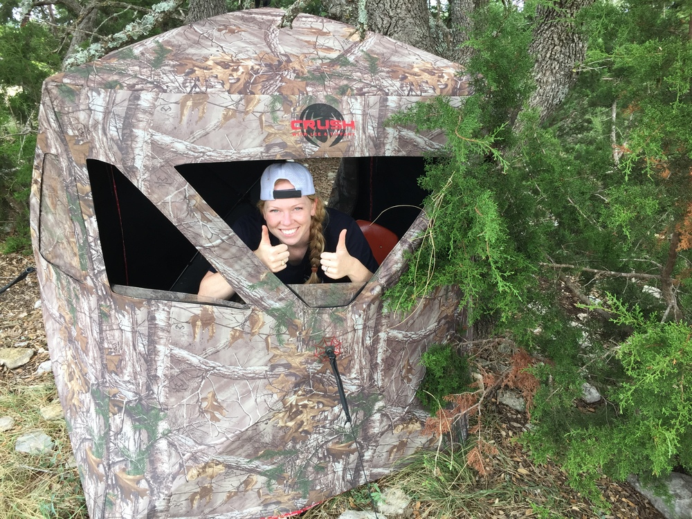 a hunting blinds blind beginners index methods for ground deer pit from