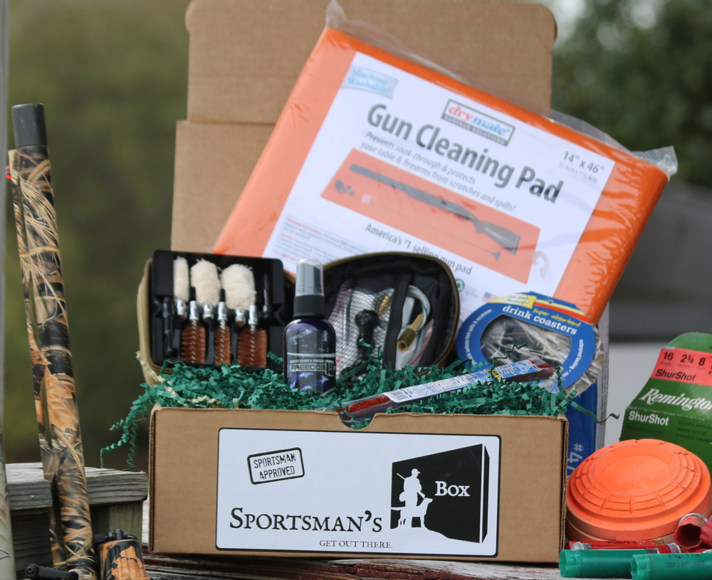 April Sportsman Box - A monthly hunting box