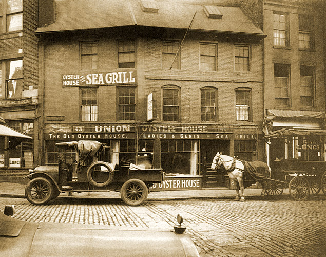 Click here  to see photos of the Union Oyster House through the years.