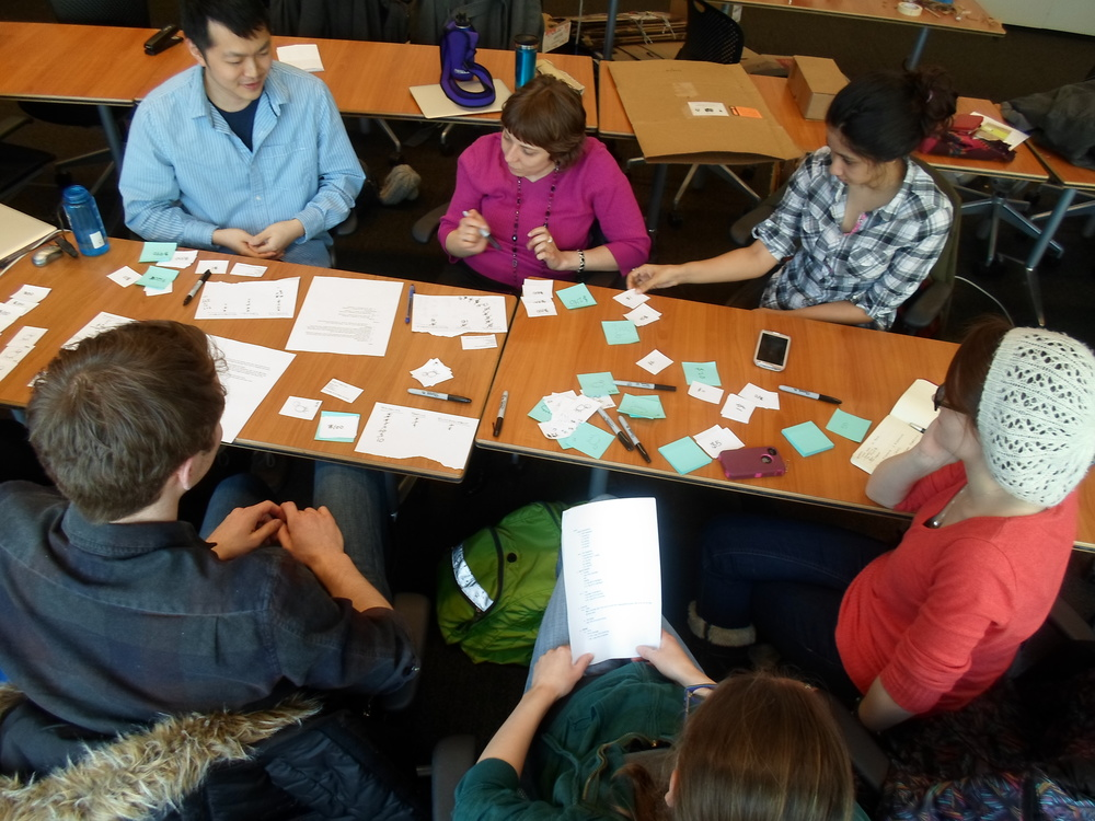 Play testing with a paper prototype of the final game to identify roadblocks and opportunities to improve social dynamics