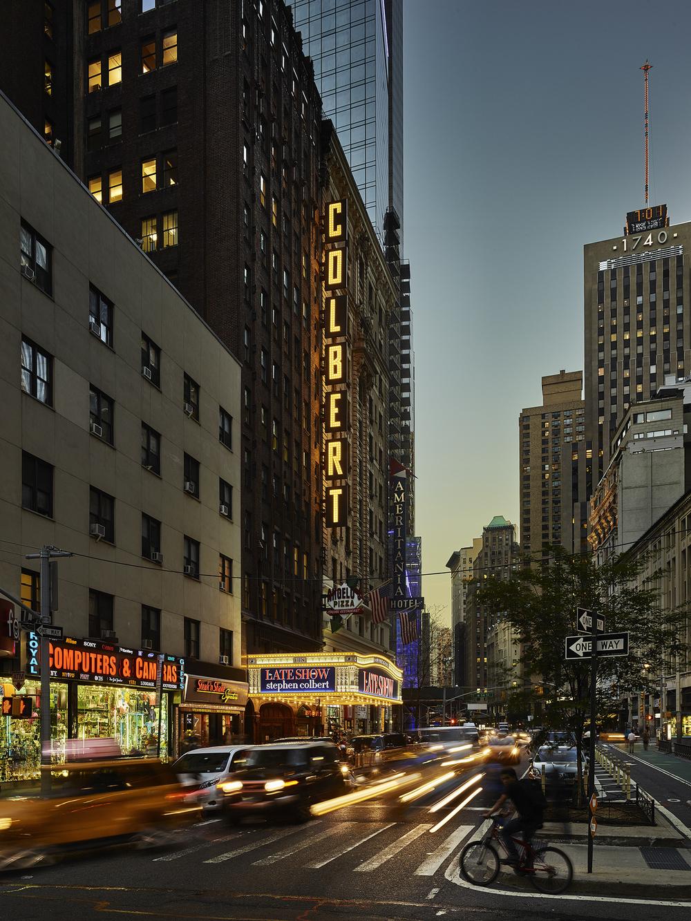Ed Sullivan Theater  Design Republic