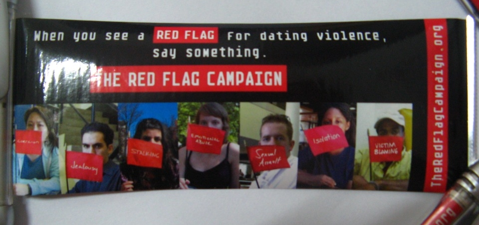 Red Flag Campaign Scroll Pen